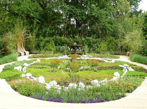 Loulou de la Falaise garden at Chateau Chaumont, France