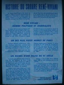Histoire du Square Rene-Vivani