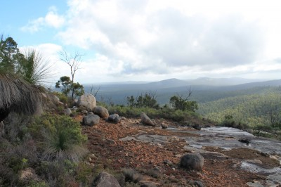 The spectacular view from the top of Mt. Cooke to Mt. Vincent & Mt. Cuthbert