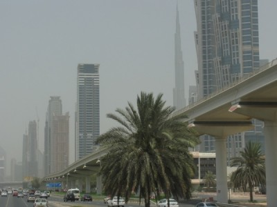 Dubai - a hot, smoggy, rapid desert to the biggest everything in the world transformation