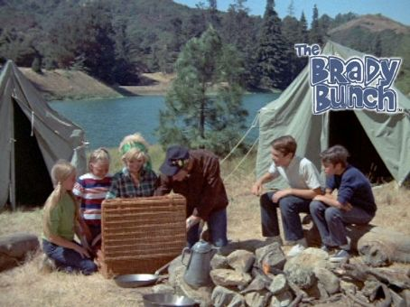 Brady Bunch camp at the Grand Canyon