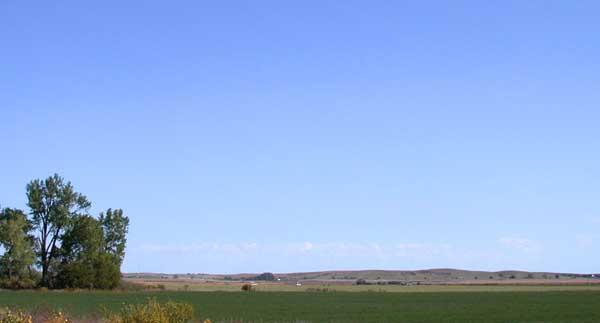 Great Plains west of Kearney
