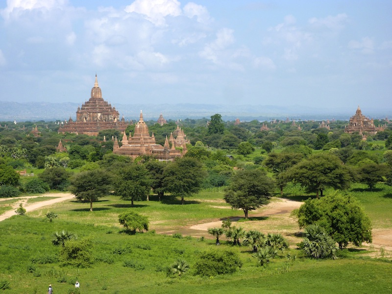 5000 pagodas and stupas at Bagan