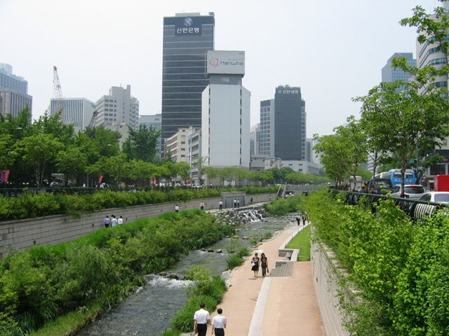 Korean city scape