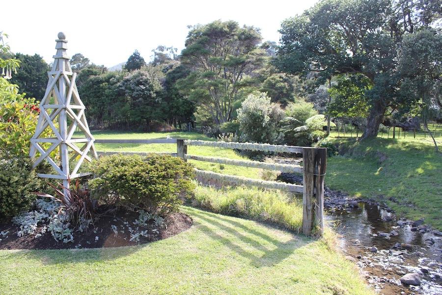 Obelisk in the doctor's garden