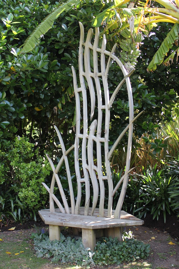 Peter Edmunds seat sculpture
