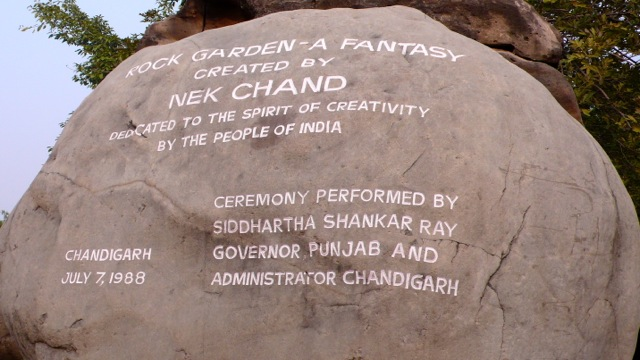 The Rock Garden at Chandigarh