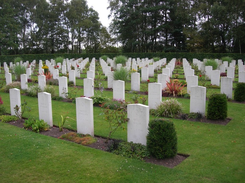 Cannock Chase War Cemetery CWGC