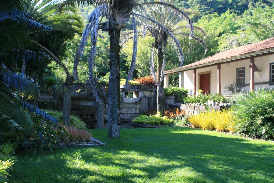 Sitio Roberto Burle Marx lawn