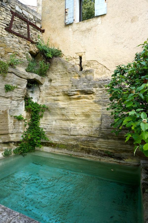 Cistern terrace