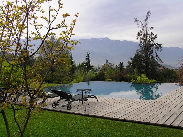 Santiago garden. Design Juan Grimm
