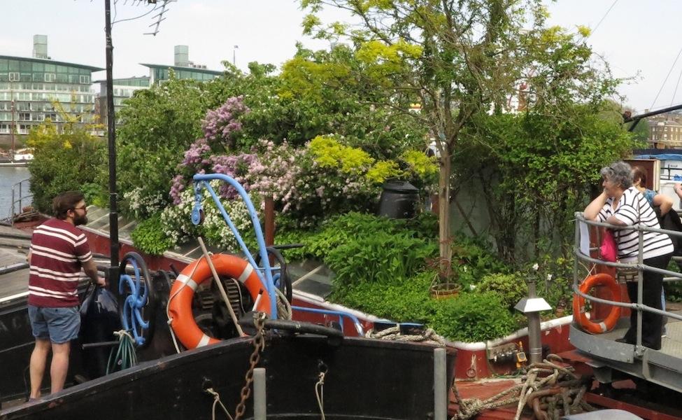 London Barge Garden