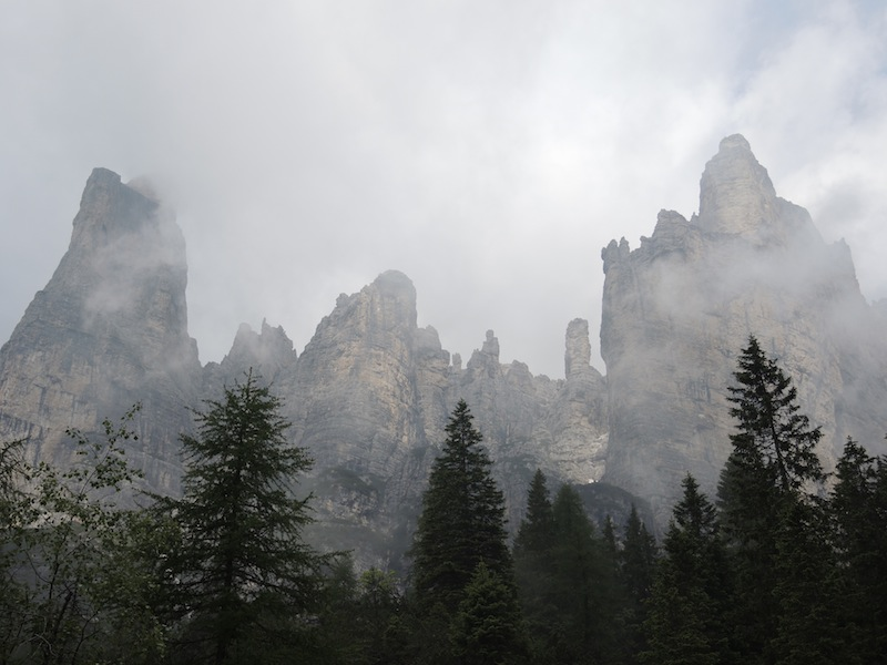 Near the Civetta ridge, Dolomites
