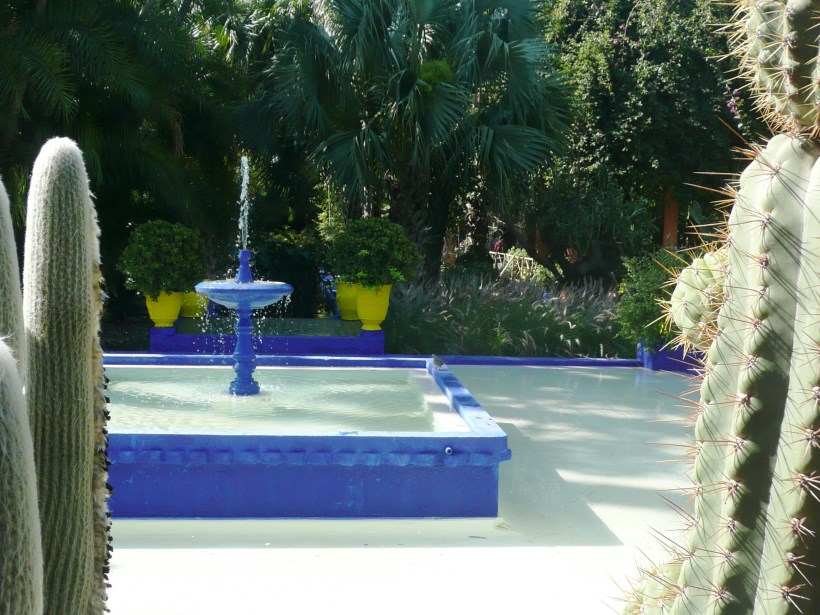 Jardin Majorelle Pond