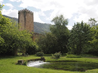 The Garden of Ninfa, Italy