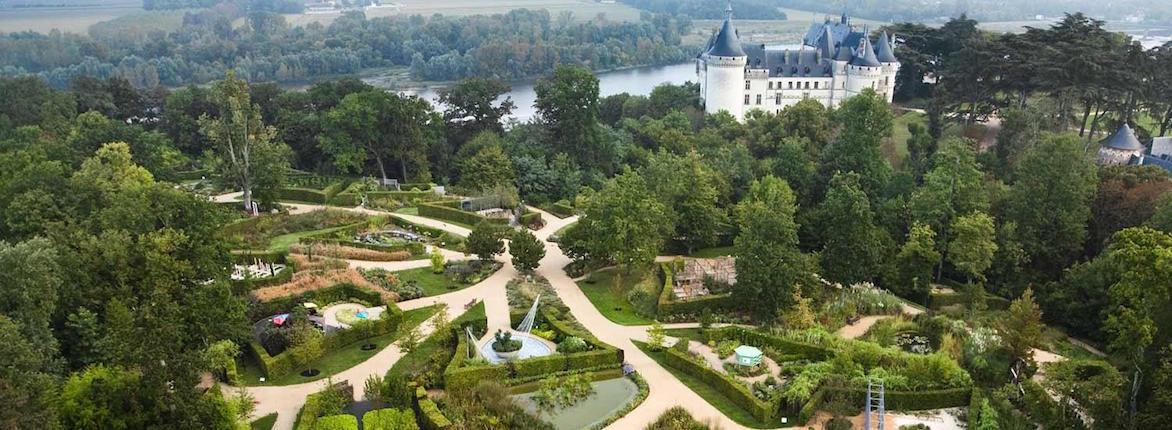 Gardens of Château Chaumont-sur-Loire