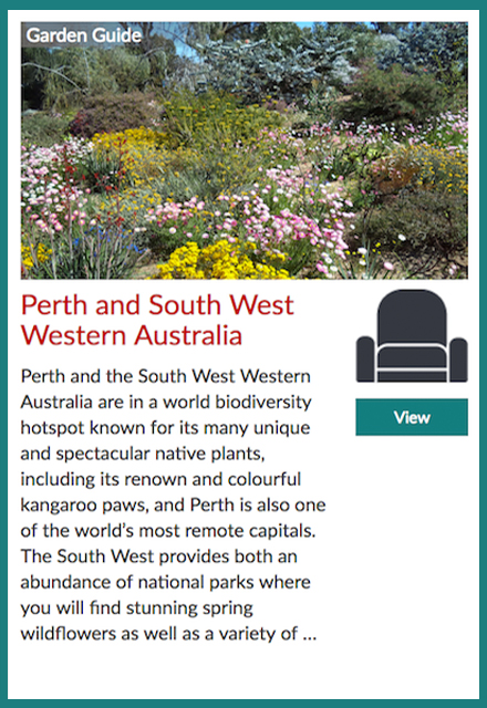 Garden Travel Guide to Perth and South-Western Western Australia