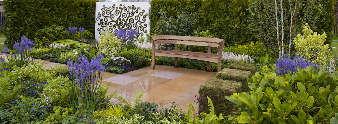 Out of Darkness. Designed by Lisa Burchill of Lisa Burchill Garden Design & Robin Ideson of Robin Ideson Design. RHS Malvern Spring Festival 2015.