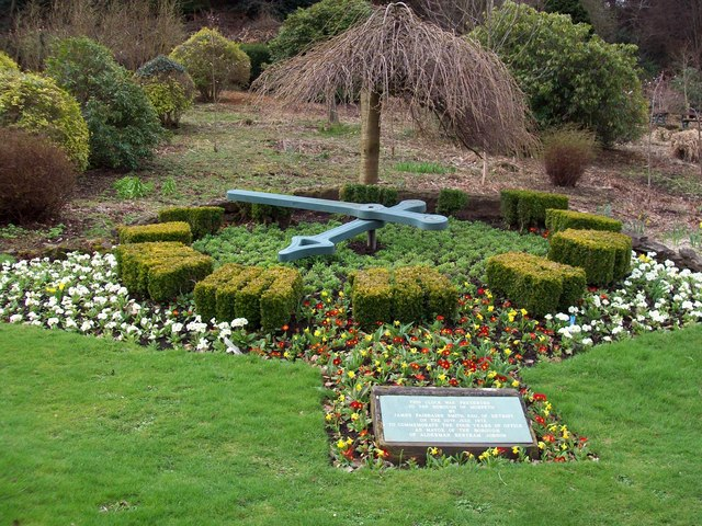 Floral Clock in Carlisle Park, Morpeth New Zealand. Photo by David Clark