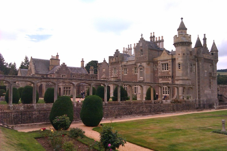 Sir Walter Scott's Abbotsford garden Photo Malvina Yock