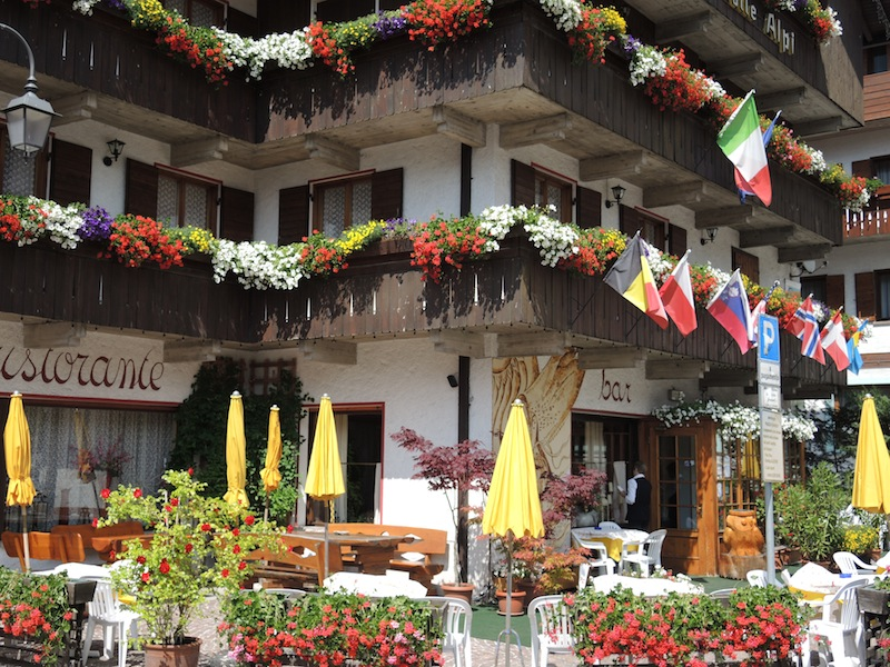 Window Boxes of the Dolomites