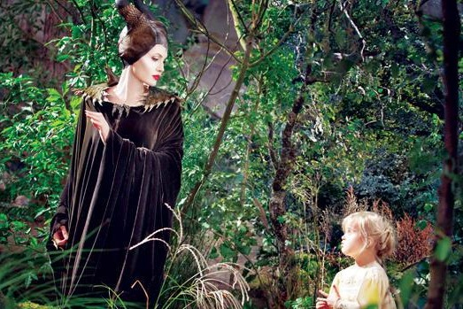 Scene from the Disney movie 'Maleficent' starring Angelina Jolie