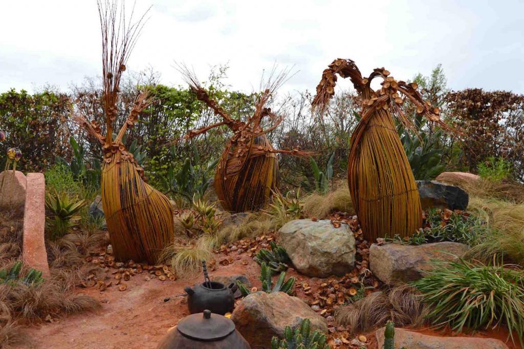 'African Kitchen' garden, design Leon Kluge