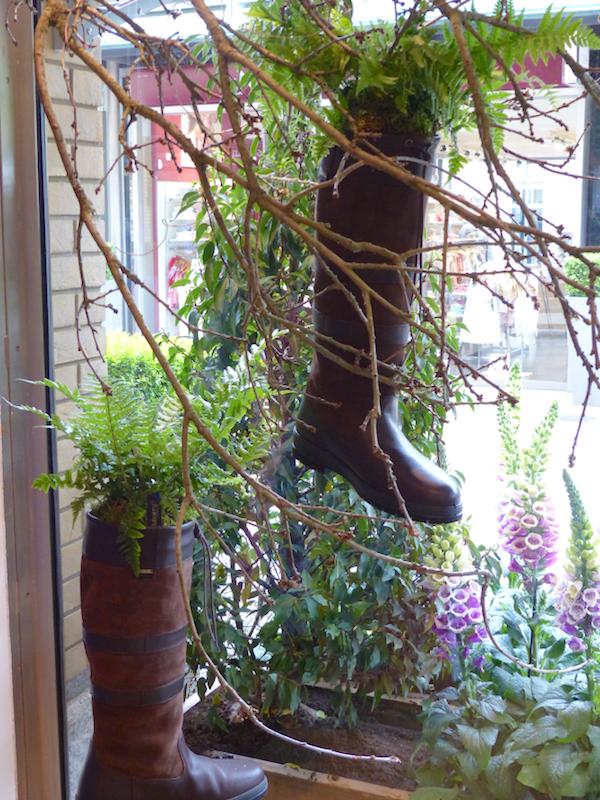Dubarry shop Sloane in Bloom 2015