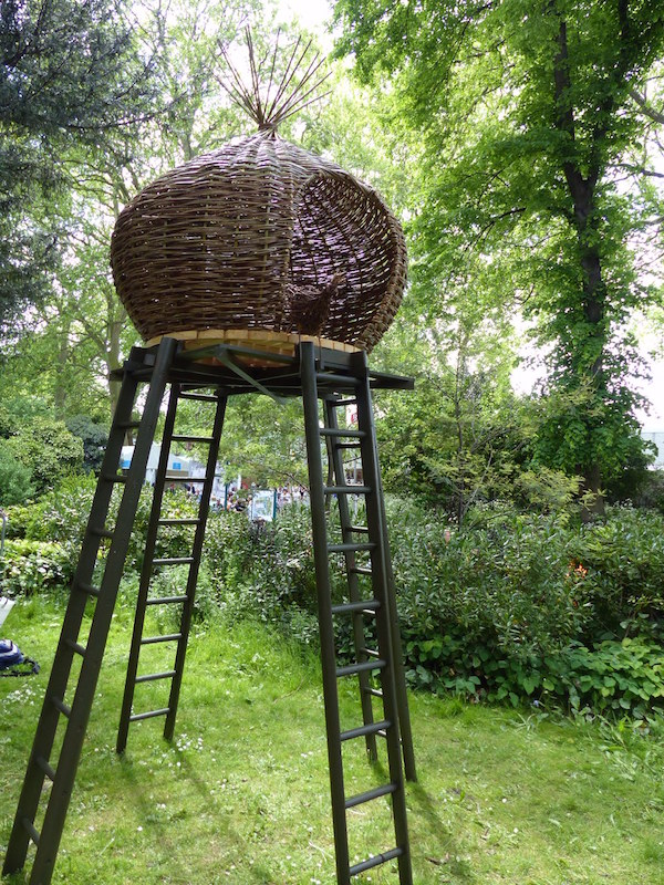 Nesting cubby house at the Chelsea Flower Show 2015you didn't know you needed