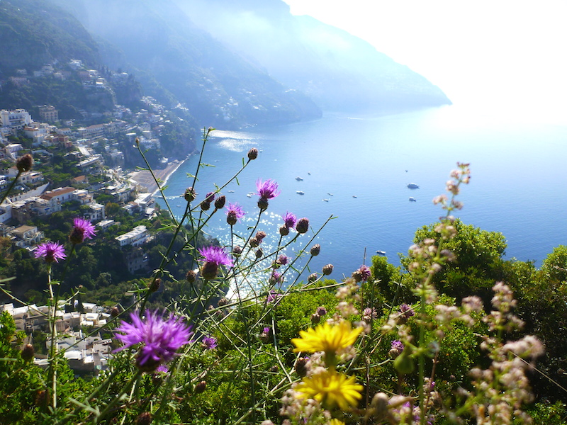 Spectacular scenery along the Amalfi Coast, Italy