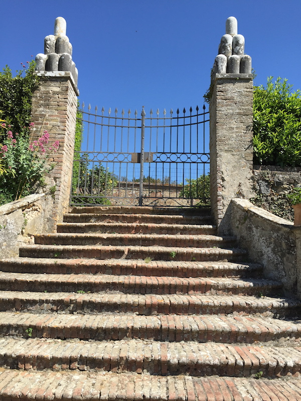 Ancient steps, Villa Vicobello