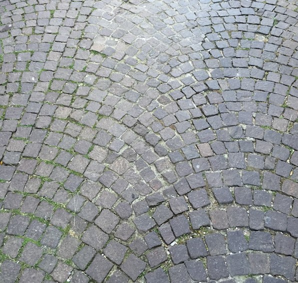 44 Paving on a street at Sutri