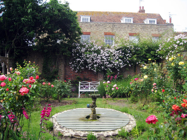 Walled garden at Lamb House. Photo Oast House Archive