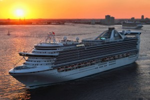 Caribbean Princess (Photo by Andy Newman/Princess Cruises)