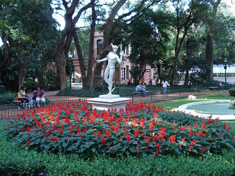 Buenos Aires Jardin Botanico Carlos Thays. Photo Arcibel