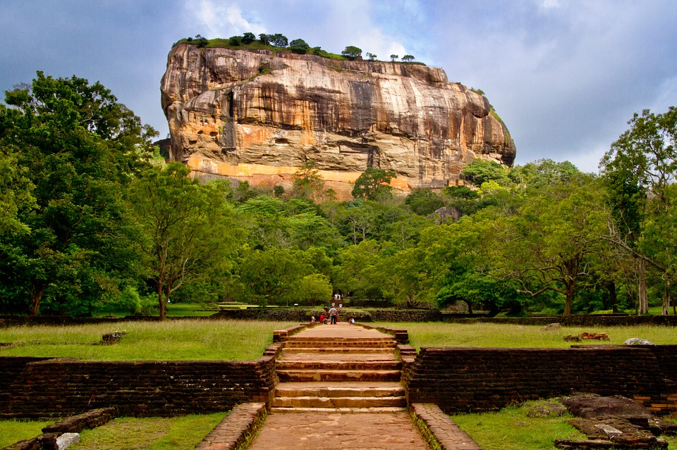 Sigiriya (Lion Rock) Sri Lanka. Photo Poswiecie