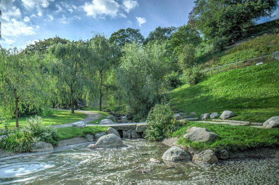 Sweden landscape park