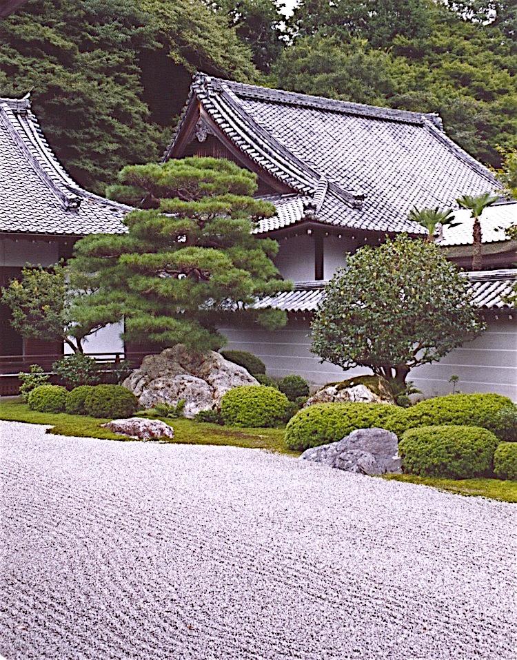Edo period Zen-style Hojo garden at Nanzenji Temple