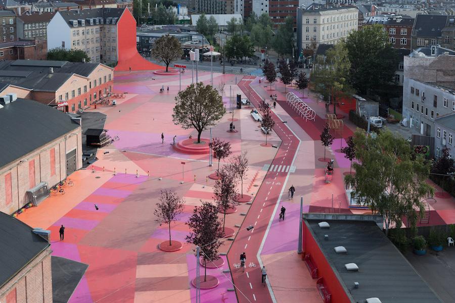 SUPERKILEN, Copenhagen. Design TOPETEK1 with Martin Rein-Cano. Image by Iwan Baan