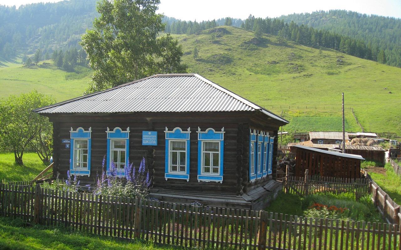 Russian Traditional Farmhouse Garden Travel Hub