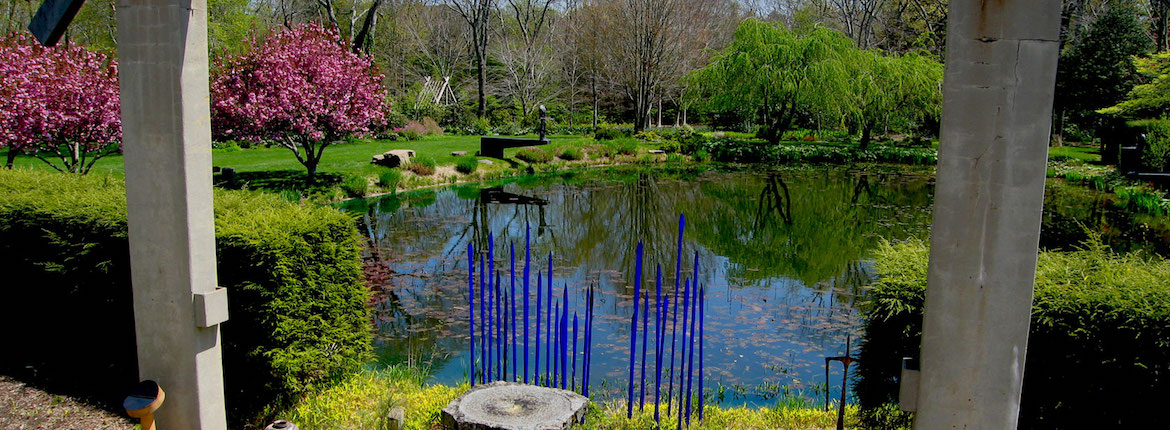 Peter's-Pond-from-the-LongHouse-balcony-East-Hampton-usa