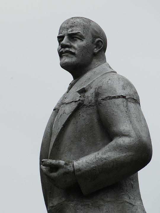 Statue Of Lenin Uglich Russia Garden Travel Hub