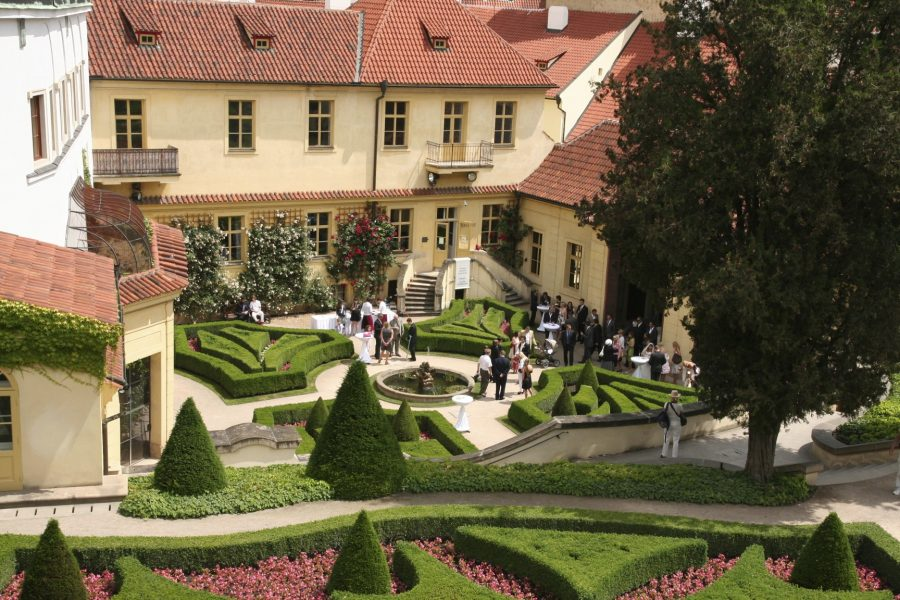 Vrtba Gardens, Prague, Czech Republic