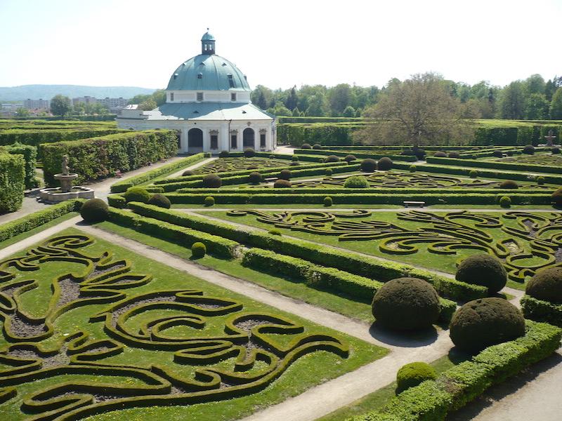 Kroměříž Castle Gardens, Moravia. Photo Marzper