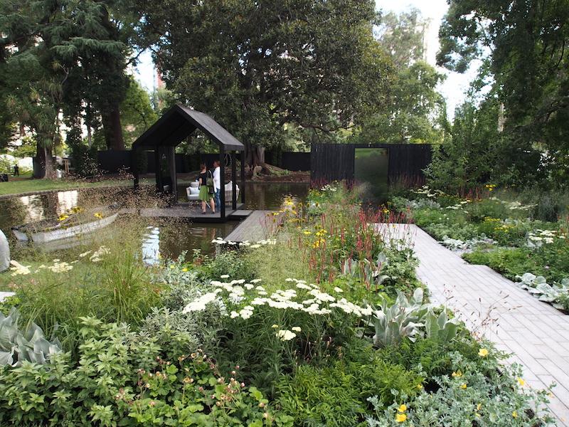 Melbourne International Flower and Garden Show 2016. Design Ian Barker, Gold Medal