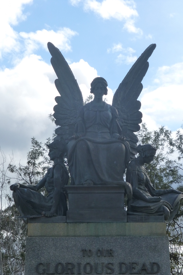 War Memorial in Cameron Park, Wellington