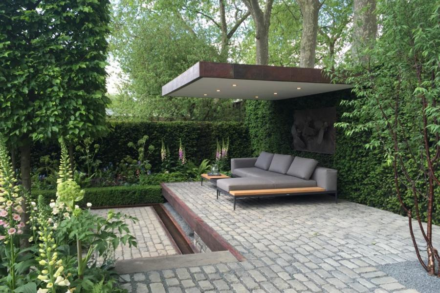 Support, The Husqvarna Garden designed by Charlie Albone. Chelsea Flower Show 2016