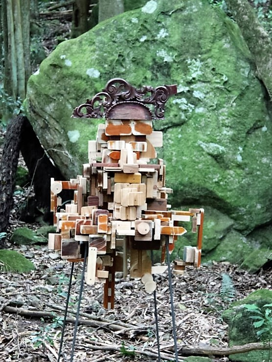 Sculpture at Scenic World, Katoomba