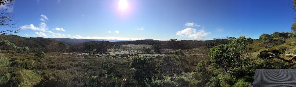 Spectacular High Country of Kosciuszko National Park in south-eastern Australi