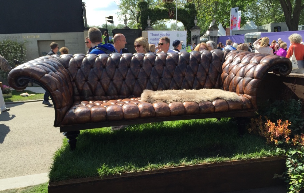 Chesterfield by Stephen Myburgh. Chelsea Flower Show 2016